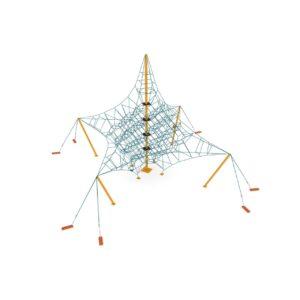CLIMBING NET — TENSEGRITY h: 9 m.