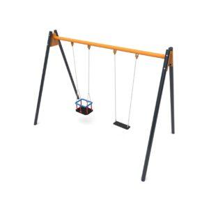 2-seat Metal Swing