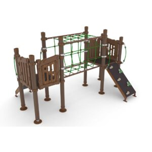 Composite Coated Naturel Playgrounds
