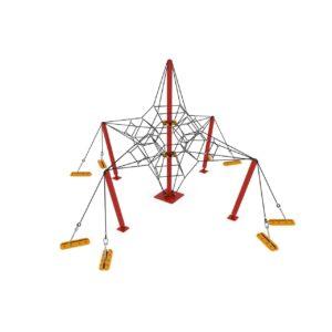 CLIMBING NET — TENSEGRITY h: 4 m.
